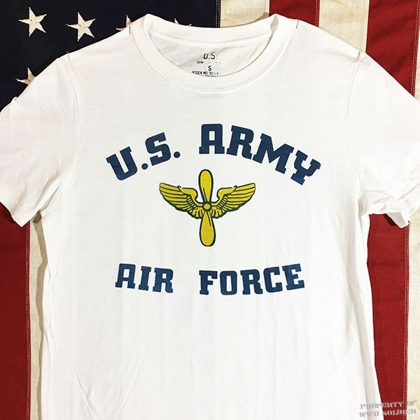 WWII US AAF T Shirt, Army Air Force Reproduction