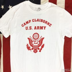 WWII Camp Claiborne T Shirt, WW2