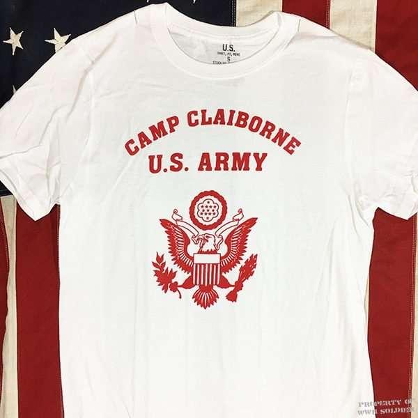WWII Camp Claiborne PT Shirt