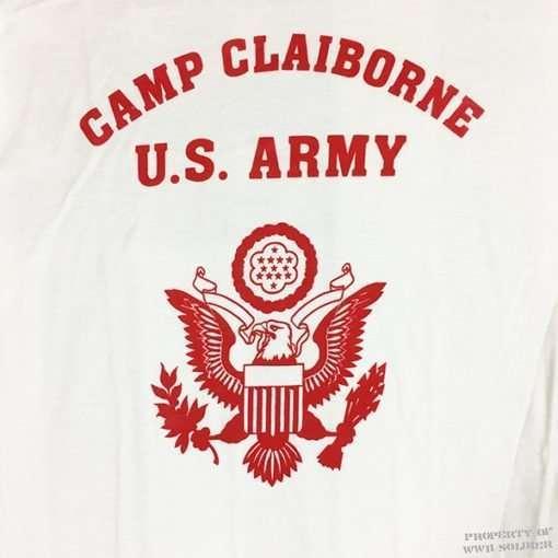 WWII Camp Claiborne T Shirt Design WW2