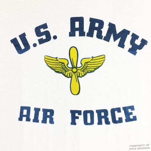 US AAF T Shirt WW2 Army Air Force Reproduction