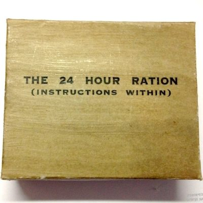 wwii British 24 hour ration replica