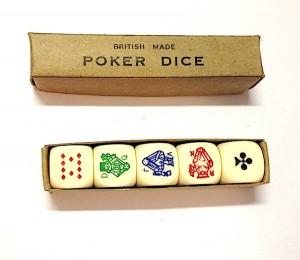 British Poker Dice inside