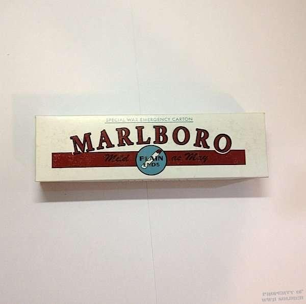 Marlboro Cigarette Carton WWII Reproduction