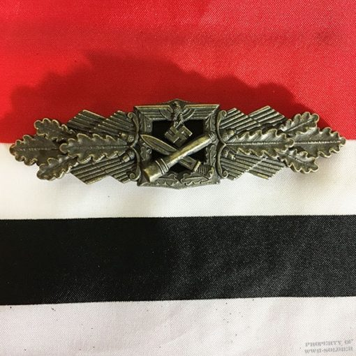 WWII German Close Combat Badge bronze, ww2 clasp Here Wehrmacht
