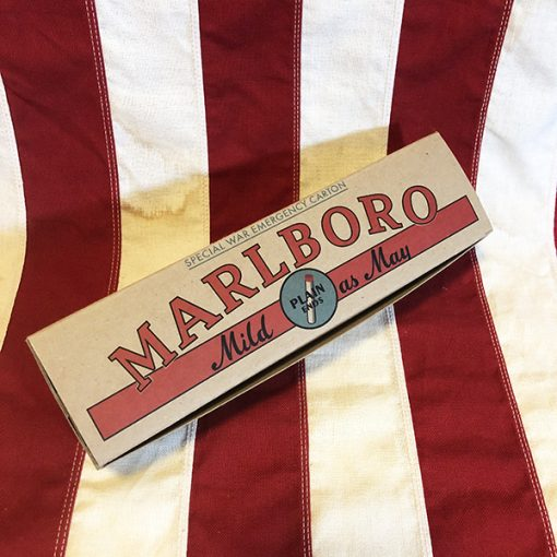 WWII Marlboro Cigarette Carton WW2 Reproduction