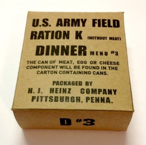 army field ration menu wo meat 3