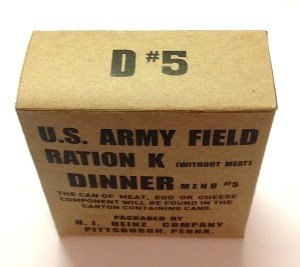 army ration k menu wo meat 5