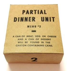 partial dinner menu unit 2
