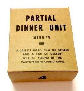 partial dinner unit menu 4