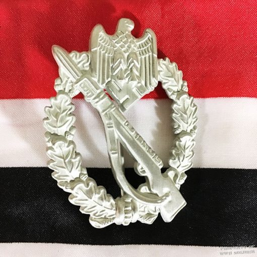 WWII German Infantry Assault Badge Silver, ww2 reproduction