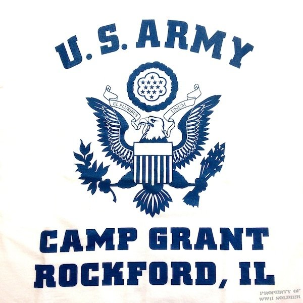 Wwii Camp Grant Rockford Il T Shirt Us Army Wwii Soldier