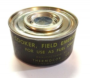Cooker Field Emergency WWII Repro