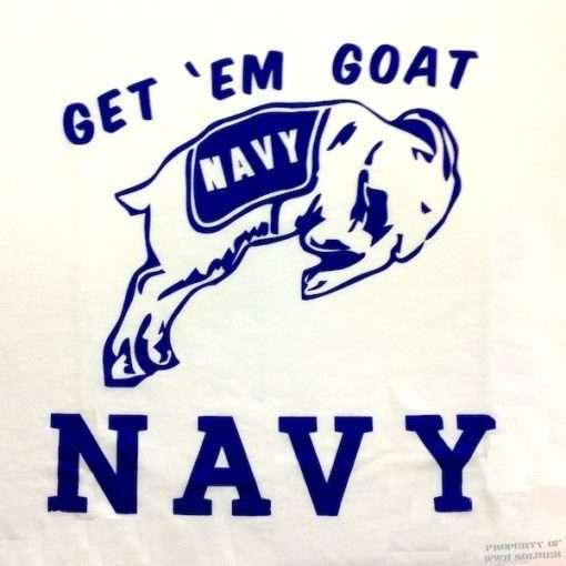 USN Get Em Goat T Shirt WW@