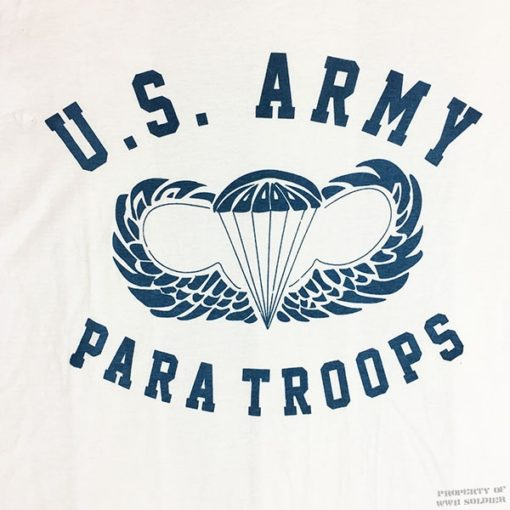 WWII Airborne T Shirt WW2 Paratroops