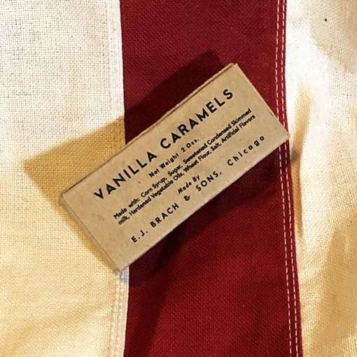 WWII Vanilla Caramel K ration WW2