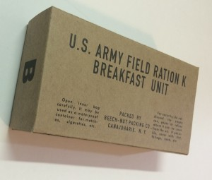 mid war k ration breakfast front