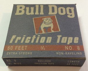 Bulldog Friction Tape front