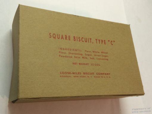 WWII Biscuit Box ww2