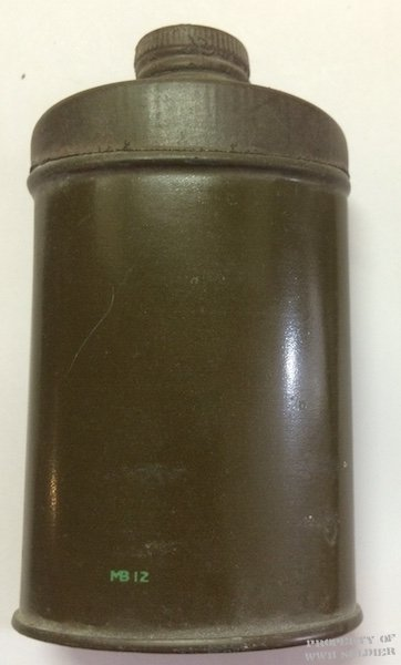 British Army Foot Powder WWII Original