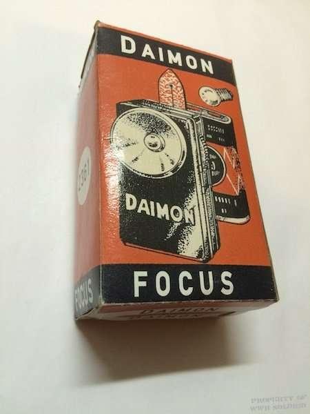 Daimon Flashlight Box WWII