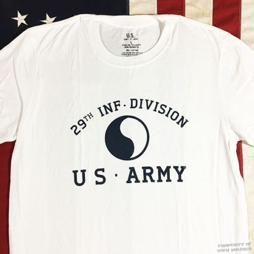 WWII 29th Infantry Division T shirt WW2