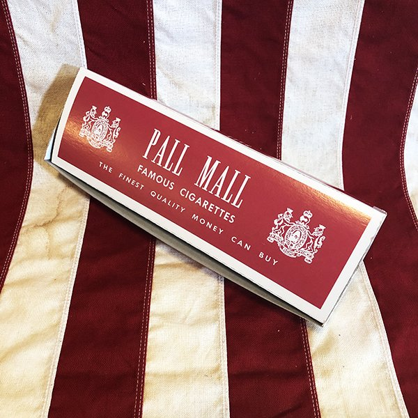 Pall Mall Cigarette Carton, WWII US Army Reproduction 1940's