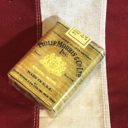 WWII Philip Morris Cigarette Pack Reproduction ww2