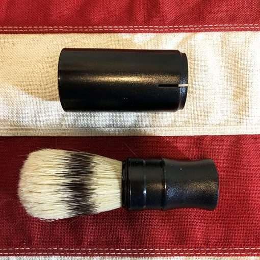 Black Handle Shaving Brush