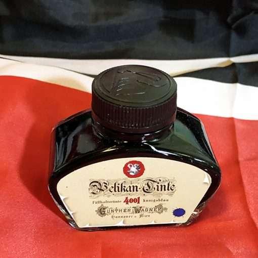 German Blue Ink Pelikan Historical Bottled