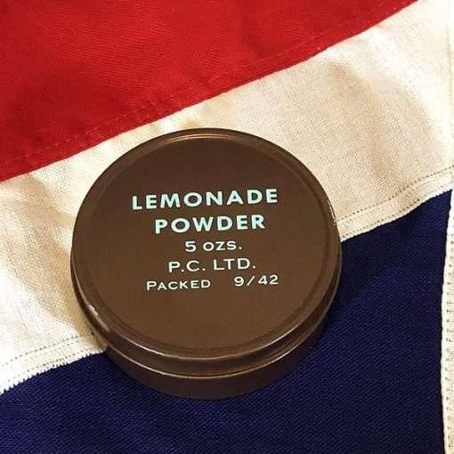 WWII Lemonade Powder Ration Tin British Army WW2