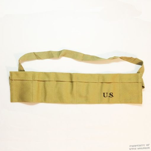 WWII 6 Pocket Bandoleer ww2