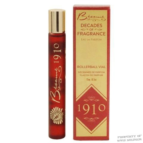 Besame Decades of Fragrance 1910 Cologne Perfume, WW1 WWI