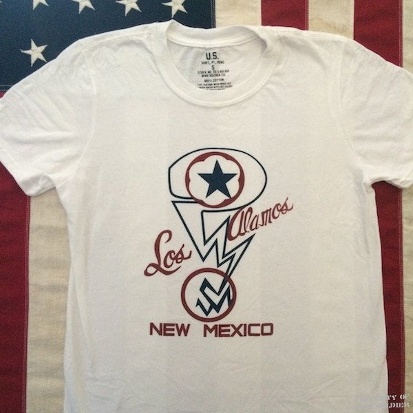 Los Alamos New Mexico Manhattan Project T Shirt WWII Replica