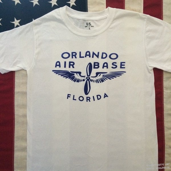 WWII Orlando Florida T Shirt, AAF Army Air Force