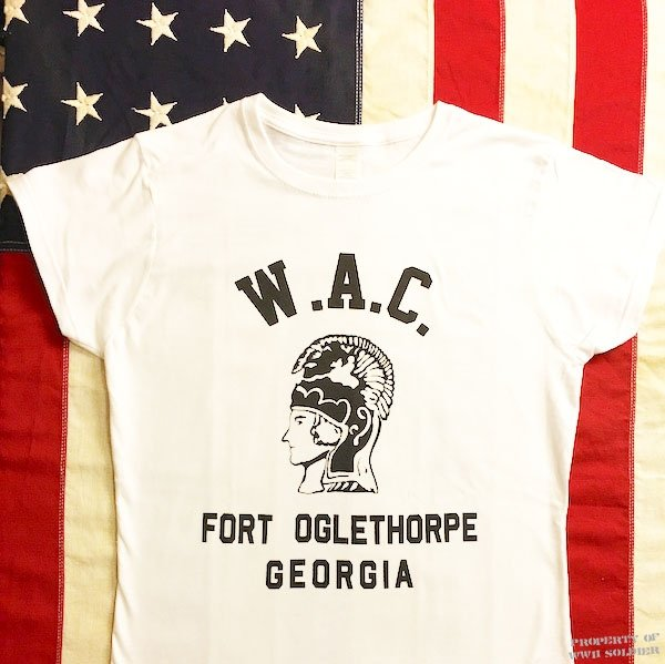 WAC T Shirt, WWII Fort Oglethorpe GA, Women's
