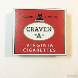 WWII Craven A Cigarette Box, WW2