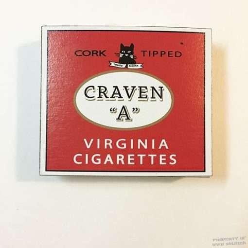 WWII Craven A Cigarette Box, WW2