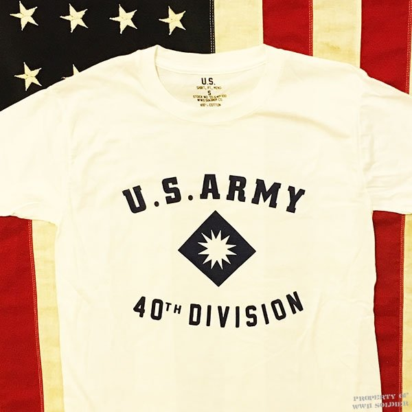 40th Division Shirt, US Army WWII Reproduction T Shirt