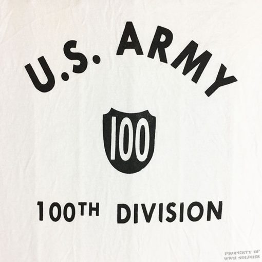 WWII US Army 100th Division shirt, WW2 T shirt