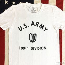 WWII 100th Division shirt, WW2 reproduction