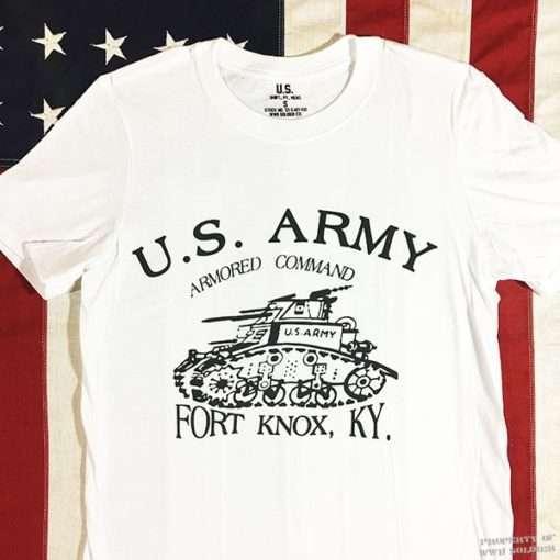 WWII Armored T shirt WW2