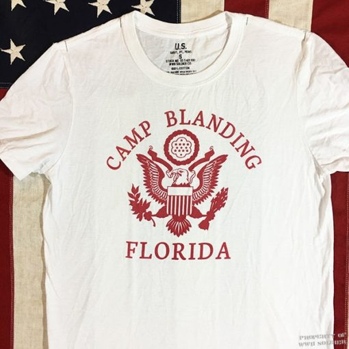 WWII Camp Blanding T shirt, WW2 reproduction