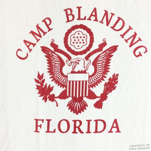 WWII Camp Blanding T shirt reproduction