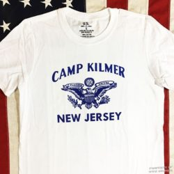 WWII Camp Kilmer NJ T shirt reproduction WW@