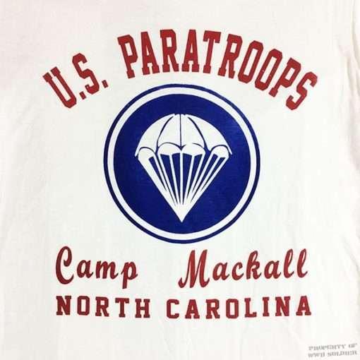 WW2 Airborne Camp Mackall T shirt