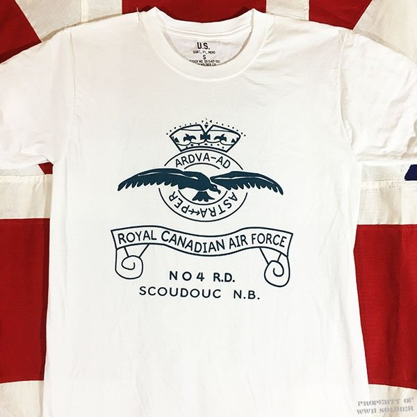 Royal Canadian Air Force T Shirt, WWII RCAF Shirt Repro