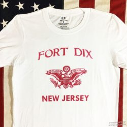 WW2 Fort Dix T shirt reproduction