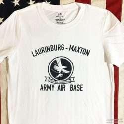 WWII T Shirt Laurinburg Maxton AAF