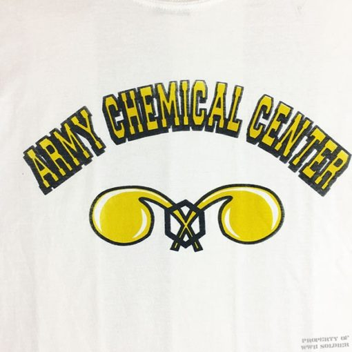WW2 Army Chemical Corps T Shirt